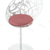 Decoration Bar Chair Free 3dmax Model