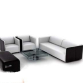 Combination Modern Sofa Free 3dmax Model