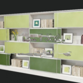 Fresh Bookcase Free 3dmax Model