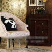 Modern Style Sofa Free 3dmax Model