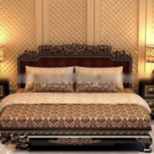 Free 3dmax Model Of European Bedding