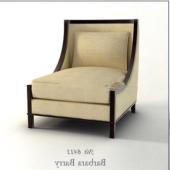 Single White Sofa