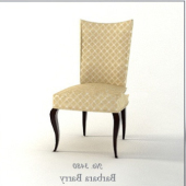Soft Single Chair Free 3dmax Model