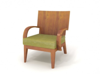 Contemporary Chair Free 3dmax Model