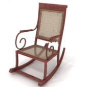Rocking Chair Free 3dmax Model