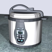 Free 3dmax Model Of Rice Cookers