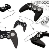 Game Controllers Free 3d max Model
