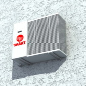 Electrical Air-conditioning Outdoor Free 3dmax Model
