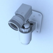 Security Camera Free 3D Max Model