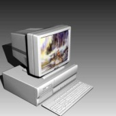 Appliances Computer Free 3dMax Model
