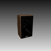 Appliances Bass Speaker Free 3dMax Model