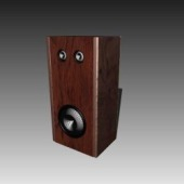 Bass Treble Speaker Free 3D Max Model