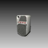 Appliances Audio Speaker 3d Max Model