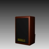 Audio Speaker Free 3d Max Model