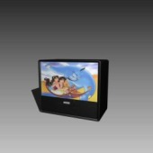 Appliances TV Monitor 3dMax Model