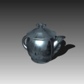 Appliances Tea Pot Free 3d Max Model