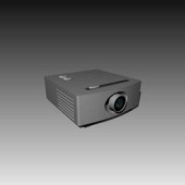 Appliances Projector Free 3dMax Model