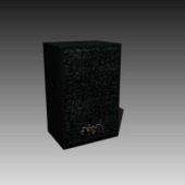 Appliances Single Speaker 3dMax Model