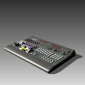 Appliances Multimedia Keyboard 3dMax Model