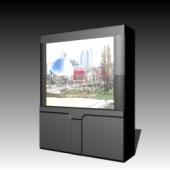 Appliances Big Screen TV 3DMax