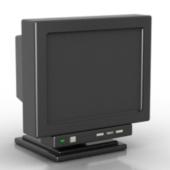 Free 3dmax Model CRT Display