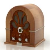 Vintage Radio Free 3dMax Model