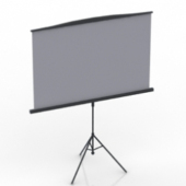 Projection Screen Free 3dmax Model