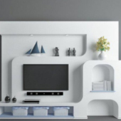 Elegant Tv Wall Design