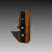 Wooden Dvd Speaker