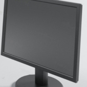PC Monitor Lcd Free 3dmax Model
