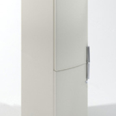 Free 3dmax Model White Refrigerator