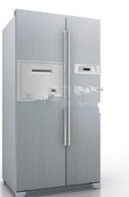 Free 3dmax Model Of Two-door Refrigerator