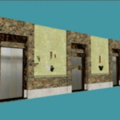 Free 3dmax Model Of Residential Elevator