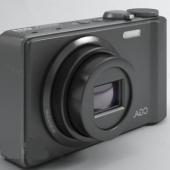 Black Compact Camera Free 3dmax Model
