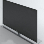 Black Lcd Monitor Free 3dmax Model