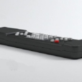 Black Remote Control Free 3dmax Model