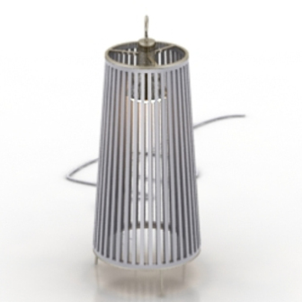 Silver Lamps Free 3dmax Model