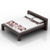 Wedding Bed Free 3dmax Model