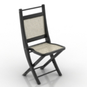 Bamboo Chair Free 3dmax Model