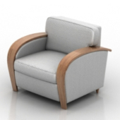 Luxury Armchair Free 3dmax Model