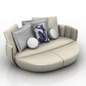 Retro Chinese Style Sofa