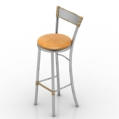 Bar High Chair Free 3dmax Model