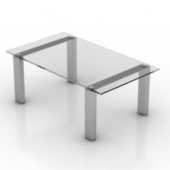 Transparent High Coffee Table