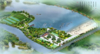 Lake Scenic Design Free 3dmax Model