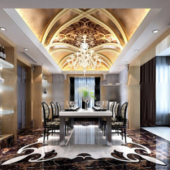2013 Restaurant Design Free 3dmax Model