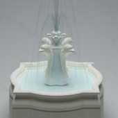 High-grade Fountain Free 3dmax Model Design