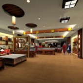 Free 3dmax Model Of Your Store Showroom
