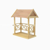 Shade Small Pavilion Free 3dmax Model