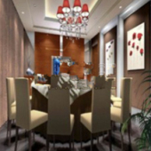 Superior Hotel Vip Room Free 3dmax Model