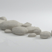 Small Stones Free 3dmax Model